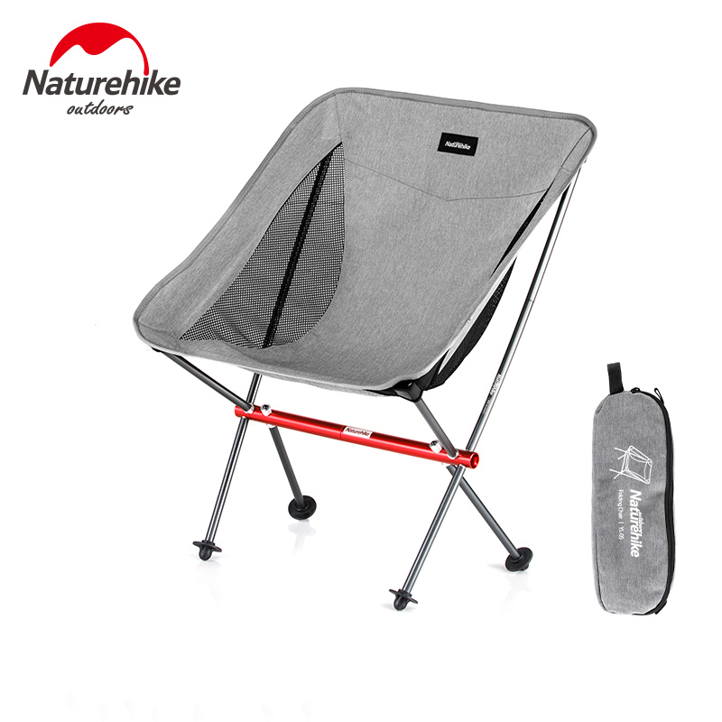Outside Portable Folding Chair Ultra Light Camping Chair Without Seat All Aluminum Alloy Support
