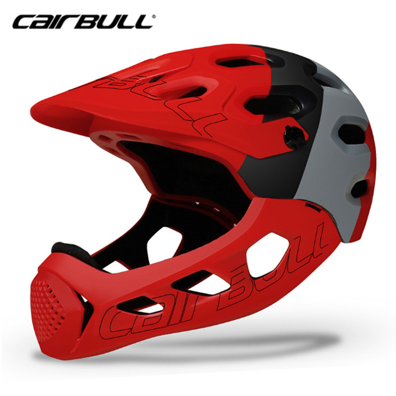 CAIRBULL Bike Helmet Extreme Sports Mountain Adults Cycling Helmet Men Women Full Covered MTB Down Hill Bicycle Helmets Skating|Bicycle Helmet| |  - title=