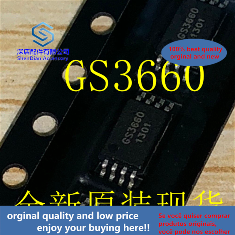 10-20pcs 100% Orginal And New GS3660 TSSOP8 Best Qualtiy