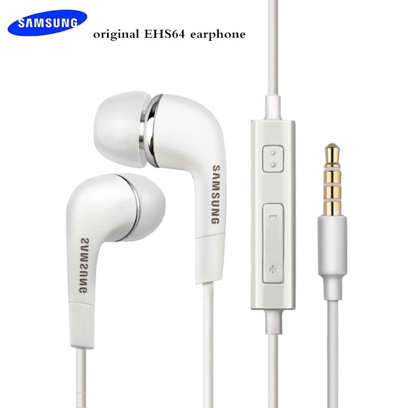 Оригинальные наушники Samsung 3,5 мм стерео EHS64 наушники-вкладыши с микрофоном/пультом дистанционного управления для Galaxy S6 S7 S8 S9 S10 A30 A50 A70