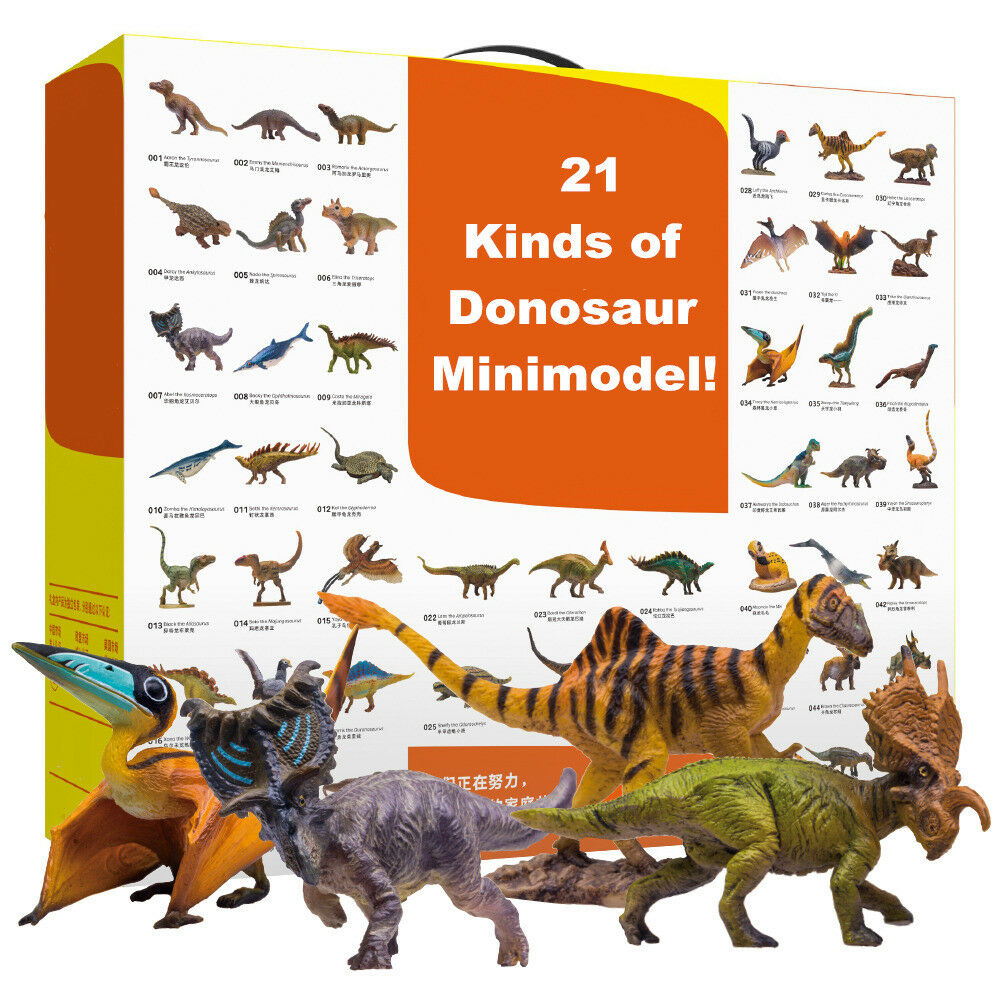 PNSO Tyrannosaurus Triceratops  Mamenchisaurus Amargasaurus Ankylosaurus Spinosaurus Dinosaur Figure Dinosaur Toy Kids Boys Gift