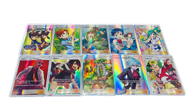 6.3*8.8CM  Trainer Game Collection Cards