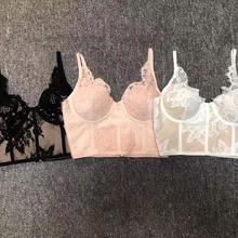 Горячее предложение новые модные кружевные сексуальные платья без рукавов с v-образным вырезом вечерние Клубные платья розовый белый черный женский короткий топ с повязкой