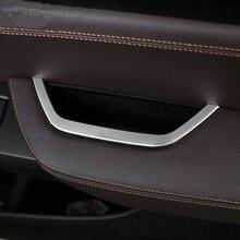 Хромированный автомобильный Стайлинг для двери водителя подлокотник коробка для хранения рамка крышка Накладка наклейка для BMW X3 F25 X4 F26 2011- аксессуары для интерьера