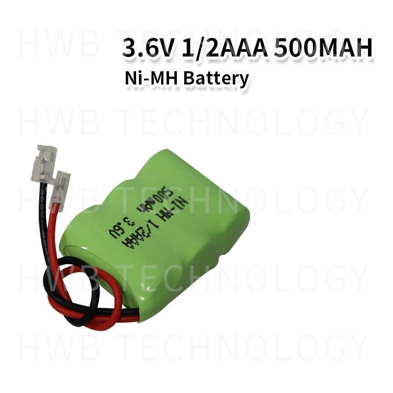 1 قطعة/الوحدة جديد متولى حسن 1/2AAA 3.6V 400mAh بطارية نيكل ميتال هيبريد 1/3 AAA بطارية قابلة للشحن حزمة مع المقابس ل هاتف لاسلكي شحن مجاني