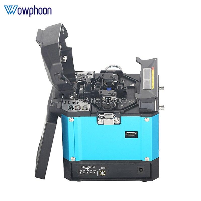 Free Shipping FS-60E Optical Fiber Fusion Splicer FTTH Fiber Optic Welder Splicing Machine