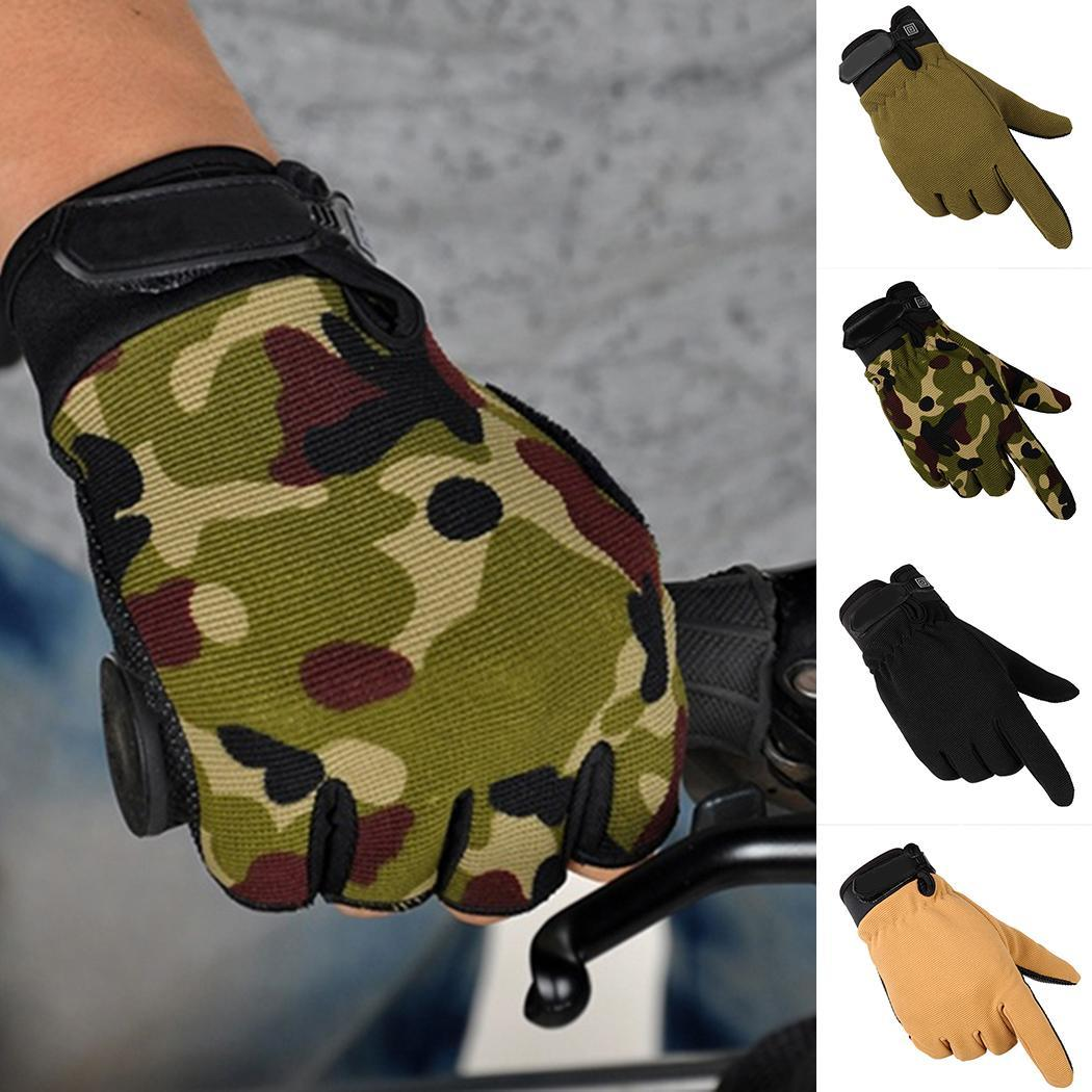 Outdoor Riding Full Finger Gloves Tactical Protection Cycling Sports Gloves