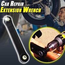 Mintiml-llave de extensión Universal de 3/8 pulgadas, llave de tuerca de tornillo, herramienta automotriz, bricolaje, práctica, manual