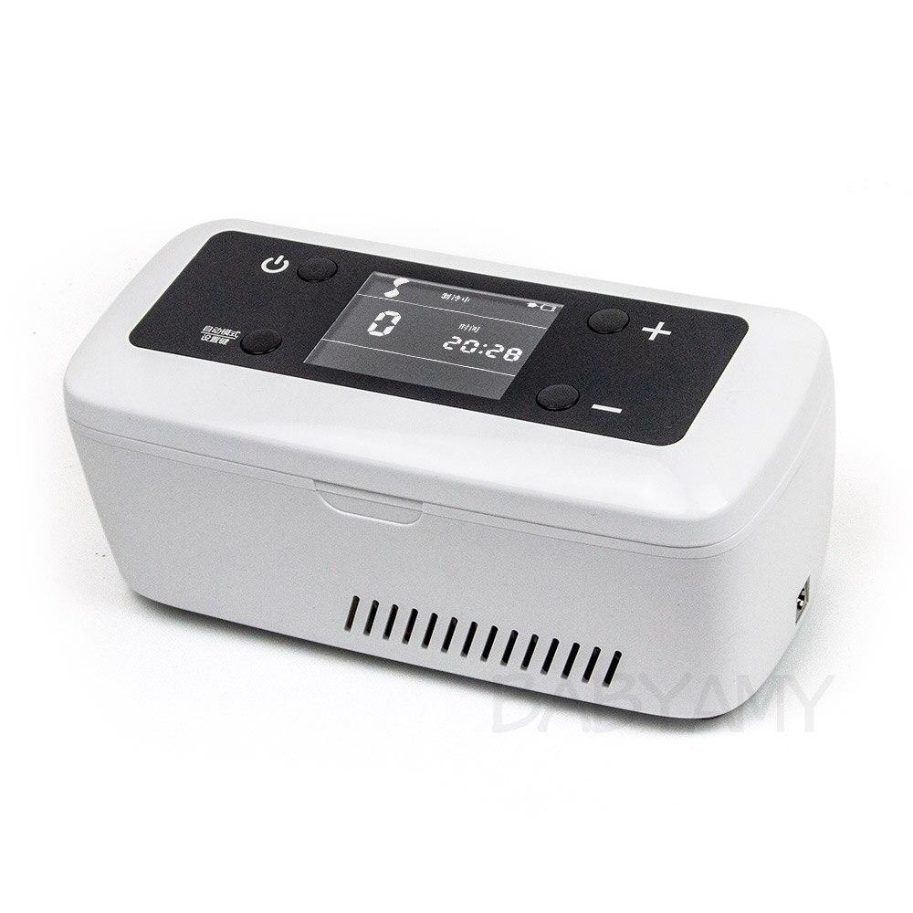 Casa carro insulina refrigerado saco de gelo isolado saco refrigerador diabético insulina geladeira