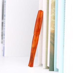 Image 3 - Penbbs 323 calligraphie stylo chine acrylique couleur adulte cadeau boîte débit pression négative vide F plume Transparent Moonman