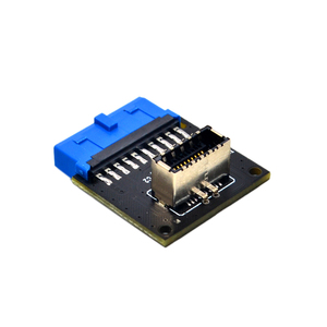 Computer Connectors USB 3.1 Front Panel PC Socket to USB 3.0 20Pin Header Extension Adapter for ASUS Motherboard PW-INC1TR(China)