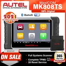 AUTEL MaxiCOM MK808TS TPMS 자동차 진단 도구 TPMS 프로그래밍 도구 타이어 압력 도구 obd2 스캐너 pk mp808ts mk808bt