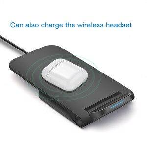 Image 4 - FDGAO 15W bezprzewodowa ładowarka USB C podstawka biurowa podkładka do samsunga S9 S10 uwaga 10 9 10W Qi szybkie ładowanie dla IPhone 11 Pro XS XR X 8