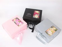 Soap flower rose gift box set Valentine's day gifts for parents girlfriend and wife's birthday