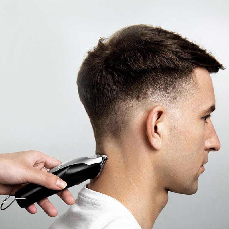 XIAOMI Mijia 男性 ENCHEN USB 充電ヘアトリマーひげトリマー電気シェーバー毛切断機 T 字型頭髪切り