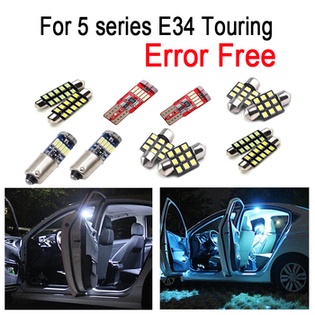 21x LED lamp Interior reading map Light Kit for bmw 5 series E34 Touring Estate 518g 518i 520i 525i 525ix 530i 540i (1991-1997) image