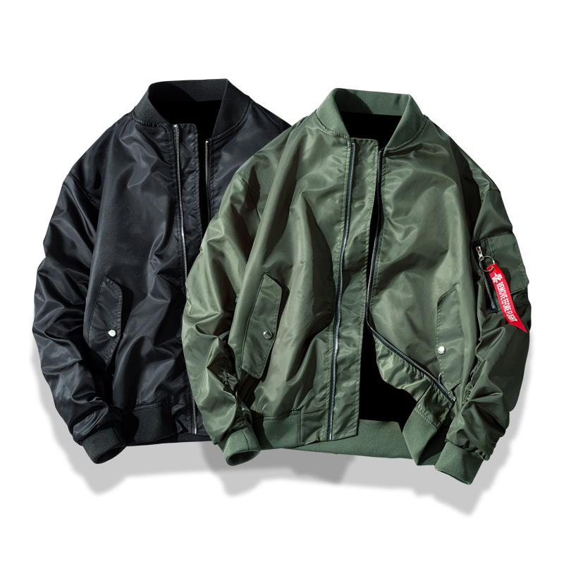 Men Bomber Jackets Casual Pilot Windbreaker Streetwear Hip Hop Male Clothing Chaqueta Hombre Coat Autumn New Arrivals  ,GA392