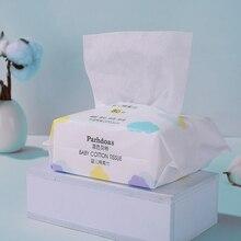 Детские хлопчатобумажные ткани одноразовые Полотенца для чувствительной кожи для сухой и влажной уборки, Применение хлопчатобумажные сал...