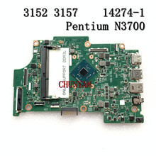 Pentium N3700 Cpu Voor Dell Inspiron 11 3152 3157 Laptop Moederbord 14274-1 475W5 CN-0YMX7F YMX7F Moederbord 100% Getest