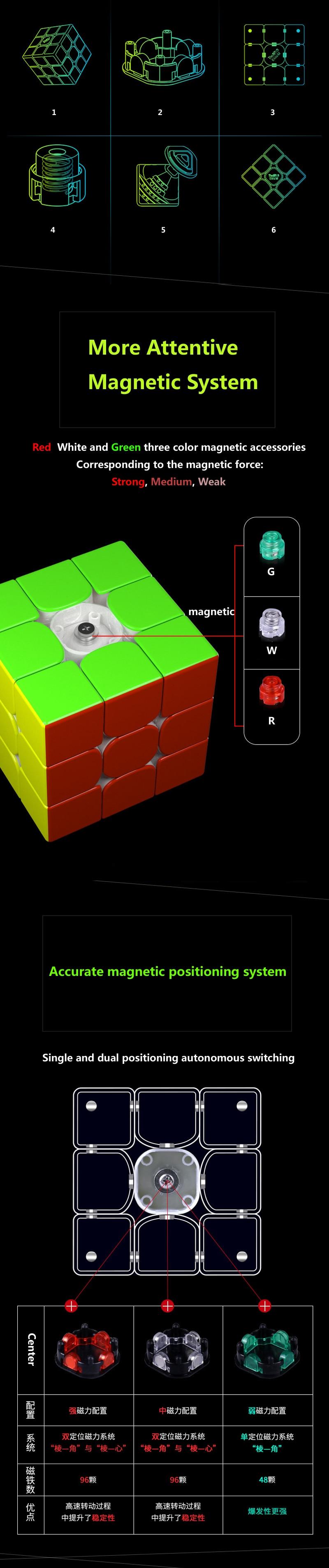 cubo magico professional cubos brinquedo wca quebra-cabeça cubos mágicos