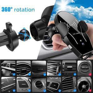Image 5 - Auto de 10W cargador inalámbrico rápido Qi para DOOGEE S96 Pro S90C S68 Pro S60 Lite S70 / S70 Lite S80 Lite S90 adaptador de coche