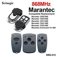 Marantec digital 868 mhz 433mhz porta da garagem controle remoto marantec transmissor portão de comando da garagem controle remoto controlador