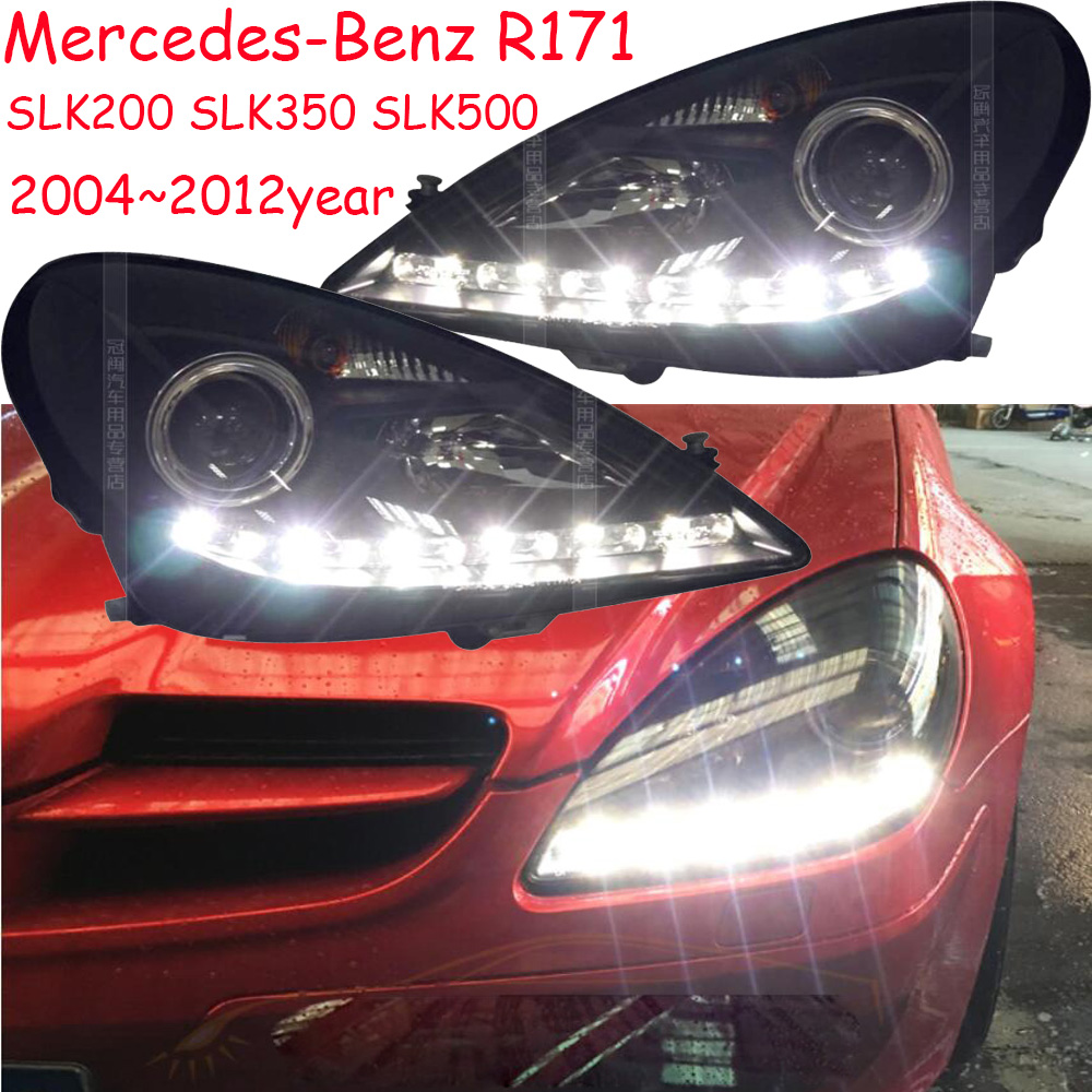2004~2012y car bupmer head light for Mercedes Benz <font><b>R171</b></font> <font><b>headlight</b></font> SLK200 SLK350 SLK500 car accessories fog for <font><b>R171</b></font> headlamp image