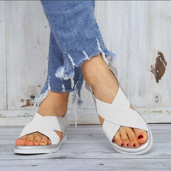 GlintLife | Comfy slip on sandals | For feet beauty
