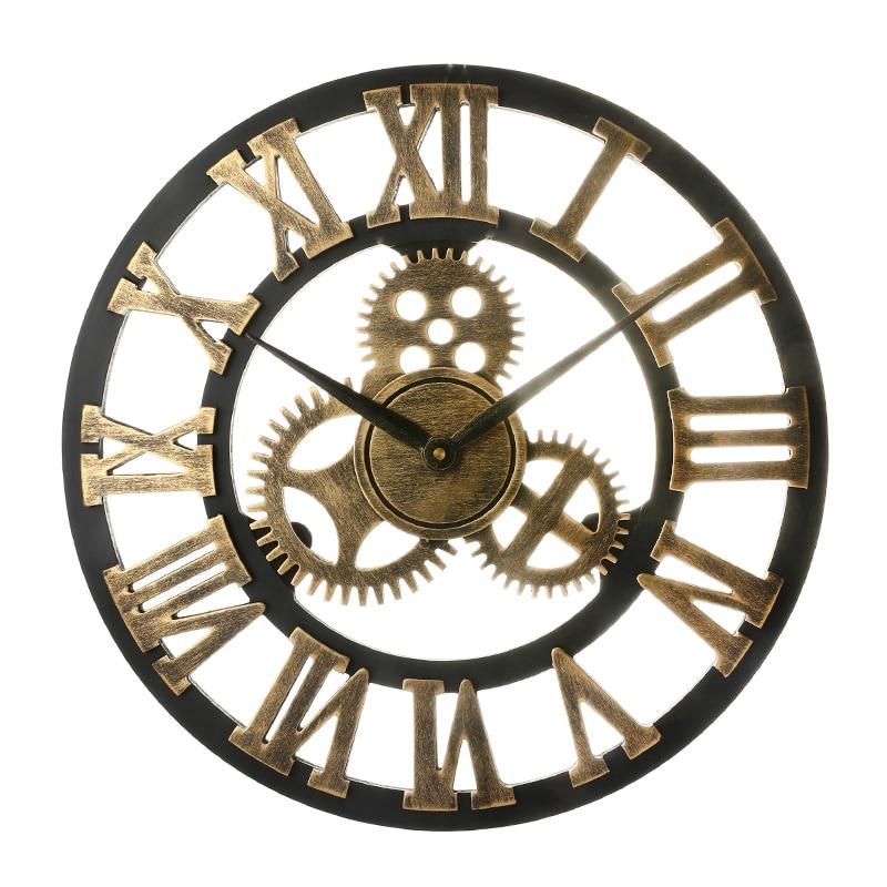 Relógio Cuco Mãos Com Furo Redondo Para Mostrador De 50 mm De Cor Branca