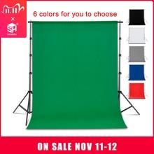 التصوير خلفية خلفية السلس الشاش القطن شاشة خضراء كروماكي كروماكي خلفية القماش للصور استوديو الفيديو