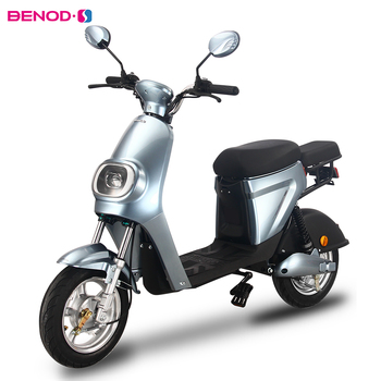 BENOD 350W Electric Motorcycle Scooters High Power 25KM/H Electric Bicycle Lithium Battery Motor Ebike Scooter Delivery Service 2