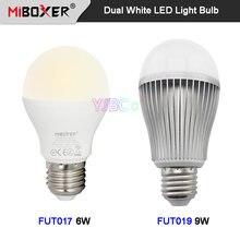 Miboxer 6 Вт 9 e27 двойная белая светодиодная лампа fut017 fut019