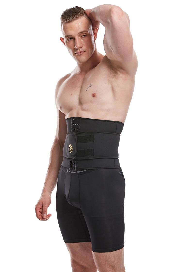 LANFEI Men's Neoprene Thermo Body Shaper Waist Trainer 20