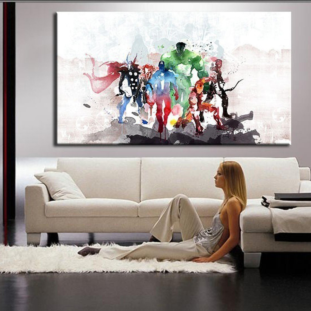 font-b-avenger-b-font-alliance-movie-posters-and-prints-watercolor-abstract-wall-art-canvas-paintings-home-living-room-murals