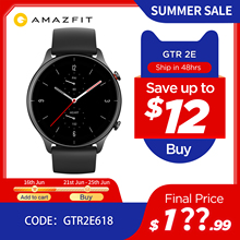 2021 New Amazfit GTR 2e Smartwatch 1 39 #8221 AMOLED Sleep Quality Monitoring 5 ATM Smart Watch for Andriod for IOS cheap CN(Origin) Android OS On Wrist All Compatible 128MB Passometer None english Russian Spanish POLISH Portuguese Turkish