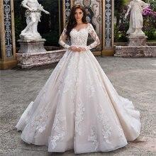 Роскошное платье принцессы свадебные платья 2020 с топом в форме