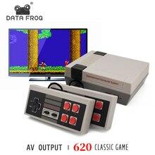 נתונים צפרדע מיני טלוויזיה Dendy משחק קונסולת 8 קונסולה קצת רטרו 620 עבור NES Wired קלאסי משחק קונסולת משפחה קונסולה AV החוצה