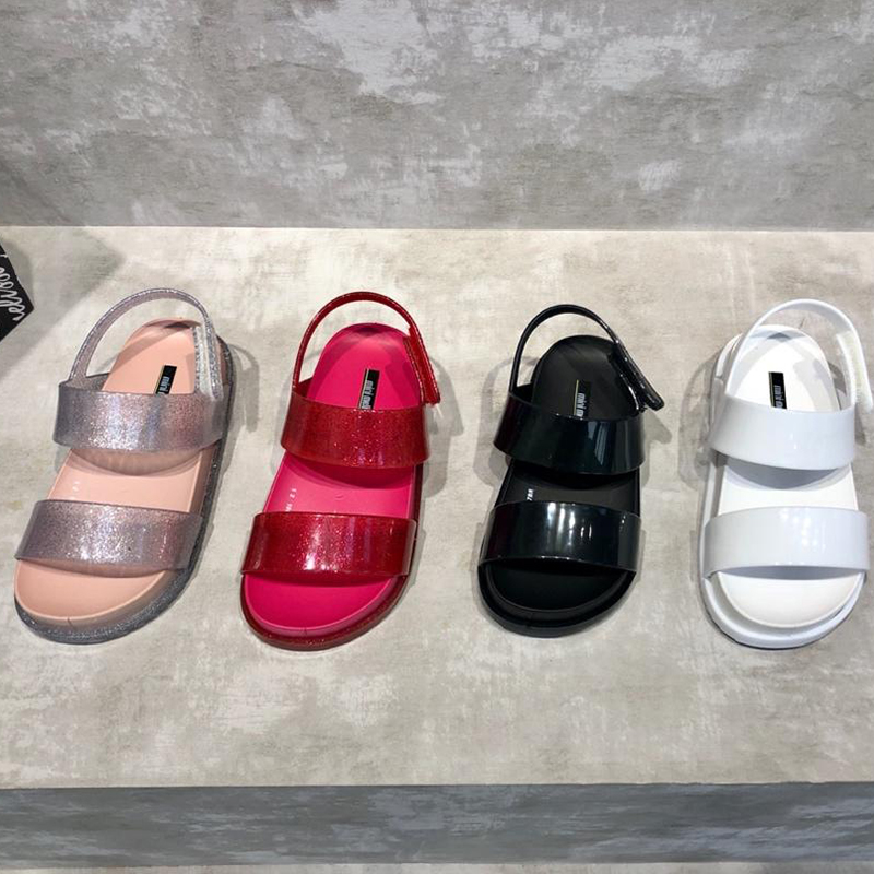 Mini Melissa Summer Beach Cosmic Sandal Princess Girls Boys Jelly Shoes Sandals 2020 NEW Baby Shoes Melissa Sandals Kids Girl