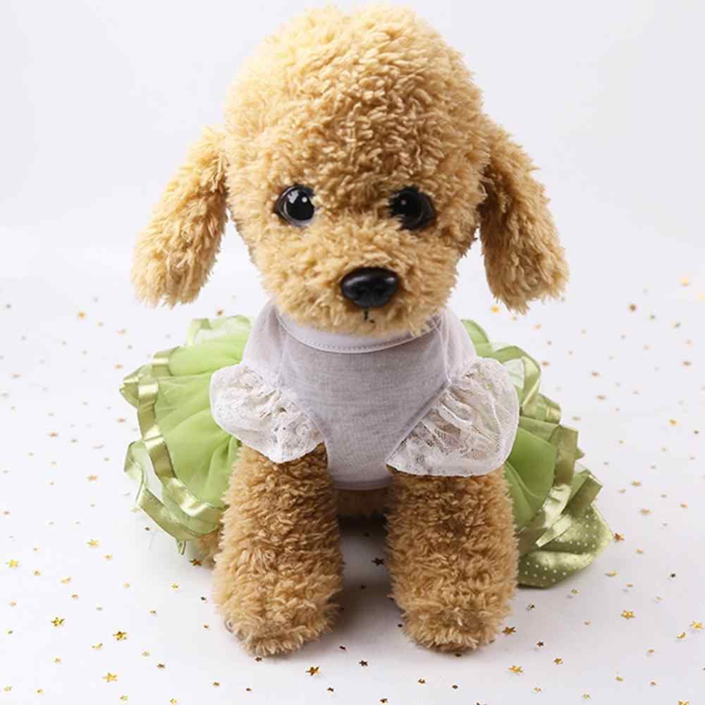 Pet Dog Ballet Skirt Clothes Puppy Cat Lace TUTU Dress Chihuahua Dog Apparel Pet Princess Summer Breathable Dress