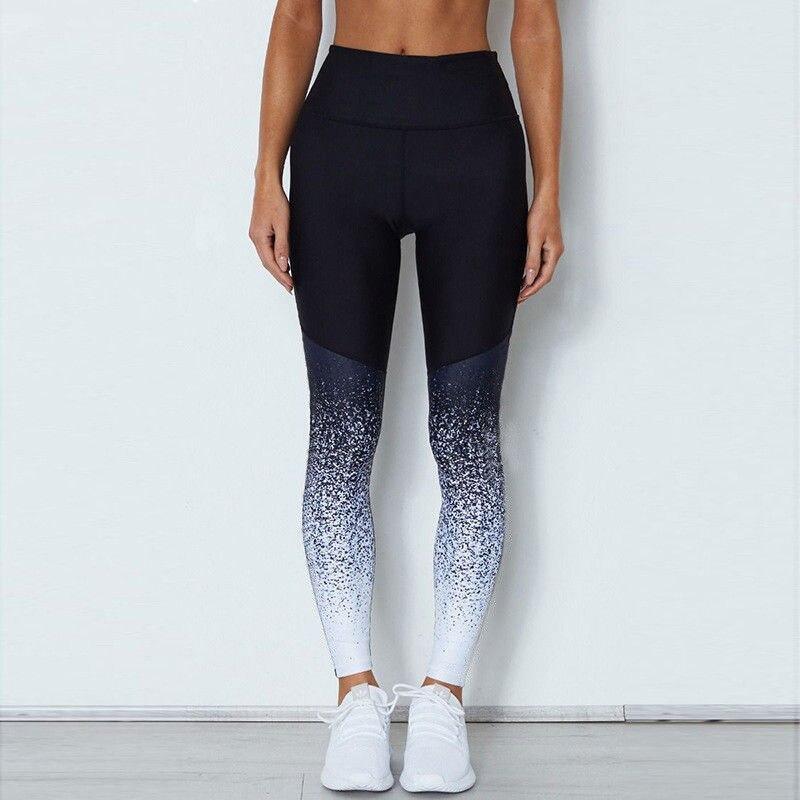 2020 Women's Seamless Leggings for Fitness high wait legging  Anti Cellulite Sport Pants Push Up Patchwork Shiny Leggings 3