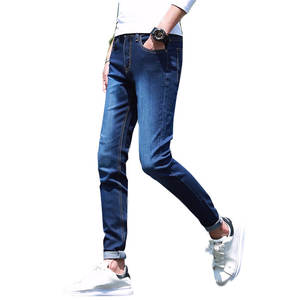 MEN'S WEAR Years Spring And Summer Men'S Wear New Products Skinny Pants Tight-Fit Jeans