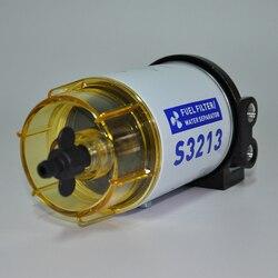 3/8 cal NPT filtr paliwa/separator wody System S3213 dla Marine silnik zaburtowy nowy i wysokiej jakości w Filtry oleju od Samochody i motocykle na
