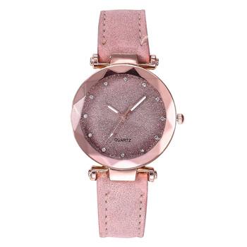 Nowe różane złote zegarki damskie zegarki kwarcowe damskie zegarki prezenty dla kobiet sukienka kobiety modny zegarek różowe zegarki damskie tanie i dobre opinie GAIETY 23cm simple QUARTZ Nie wodoodporne Klamra Ze stopu Szkło Papier Silikon 40mm 2020 16mm ROUND Brak female watchband