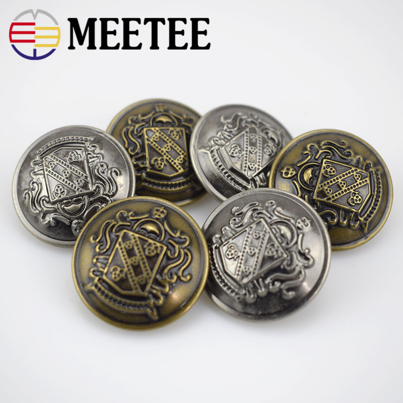 Accessories star button / Jacket suit shirt antique silver all copper metal