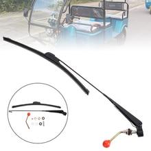 Mayitr 1SET Special UTV Manual Windshield Wiper Kit For Polaris Ranger RZR 900 1000 Moto Accessories