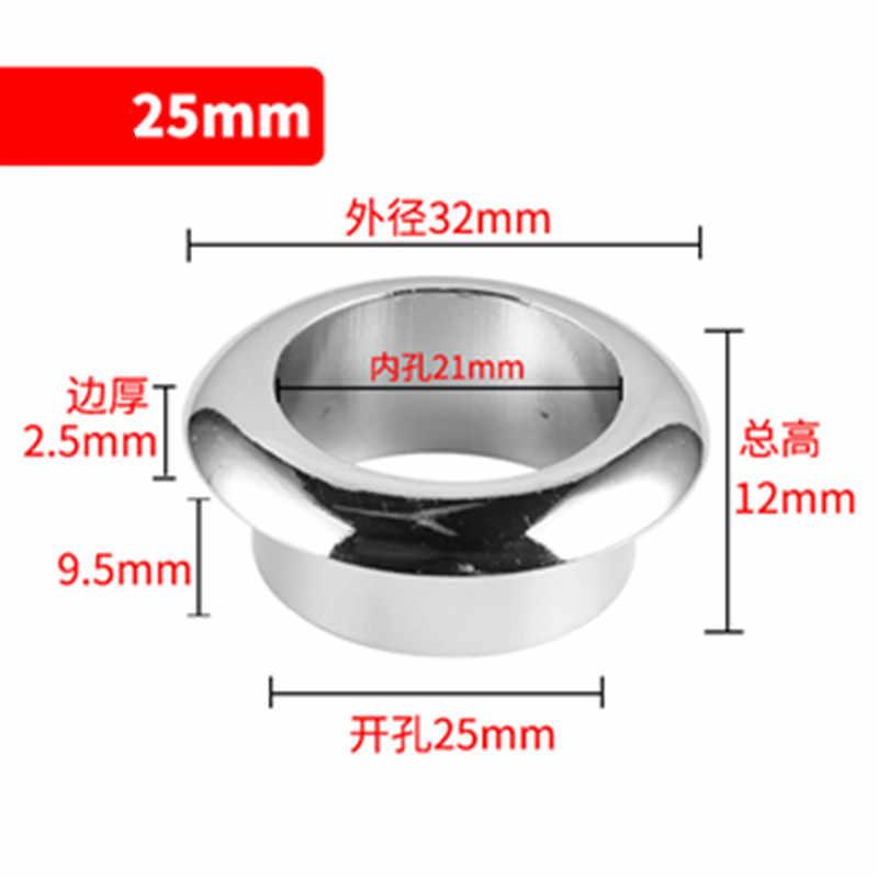 Hot biurko metalowe otwór na przewód podstawa 60mm stół kabel Outlet pc przelotka Port protector szafka vent decor pierścień meble sprzętu