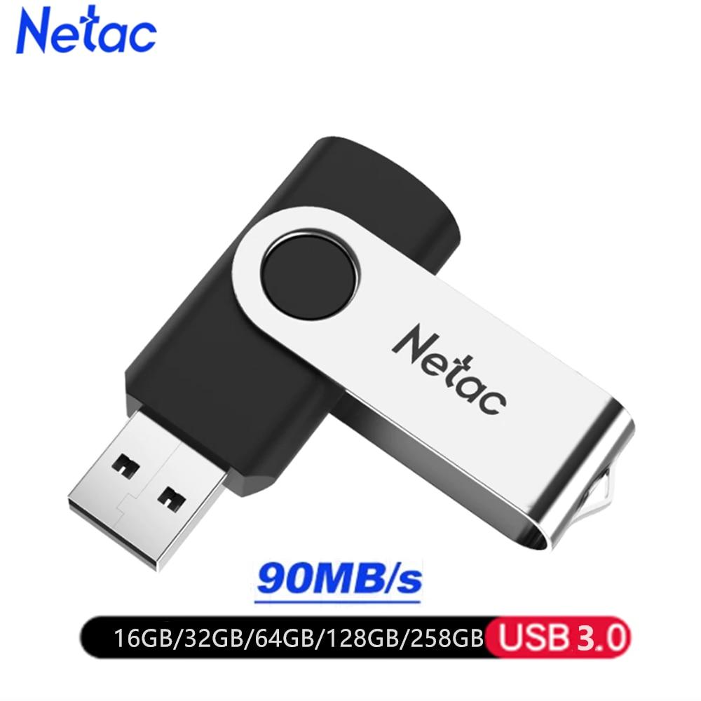 Netac USB Flash Drive 128GB/64GB/32GB/16GB Pen Drive Pendrive USB 3.0 USB Stick USB Flash Storage Devices  Cute USB Drive
