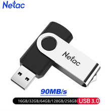 Netac USB Flash Drive 128GB/64GB/32GB/16GB Pen Drive USB 3,0 Pendrive USB Stick USB dispositivos de almacenamiento Flash lindo USB(China)
