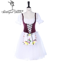 Giselle Romantic ballet tutu long dress YAGP competiton professional stage costume BT9252