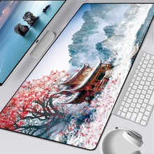 Desk-Keyboard-Mat Computer-Gaming-Mousepad Great-Wave-Off-Mouse-Pad Large Waterproof